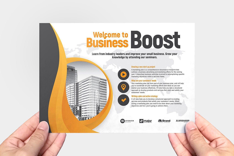 Marketing Seminar Flyer Template V2 Event Template Marketing