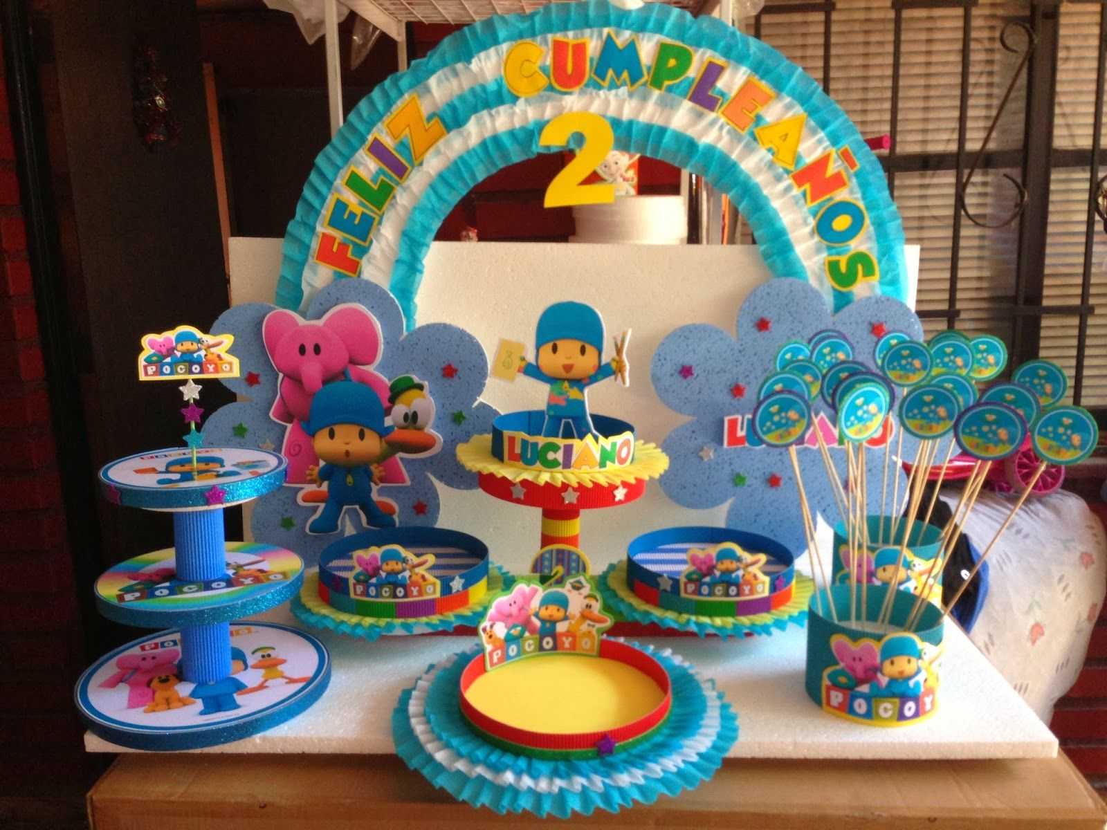 pocoyo decoraciones para fiestas the