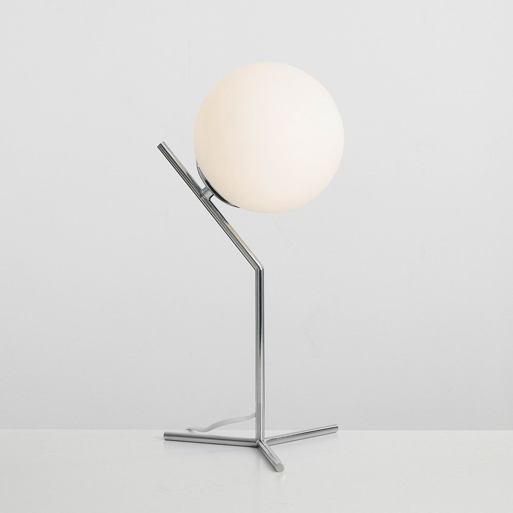 ChromeBedroom Table lighting in in Iconic Lamp Satellite eWEIYDH92
