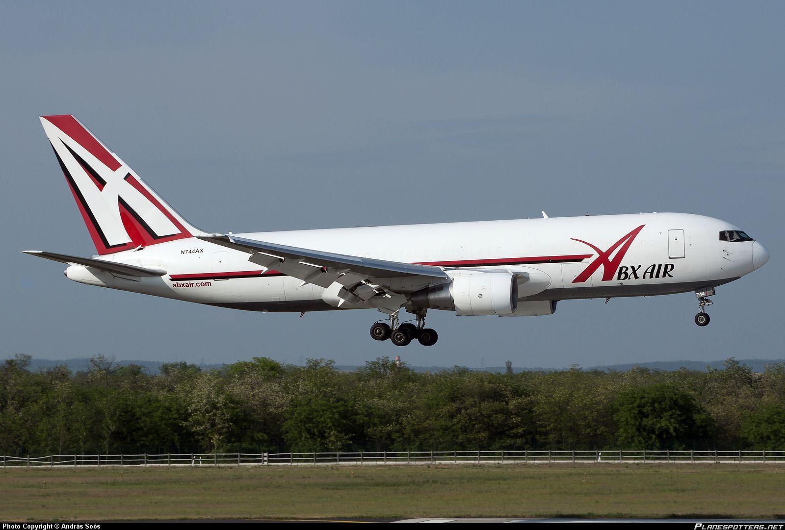 N744AX ABX Air Boeing 767232(BDSF) taken 20130508 at