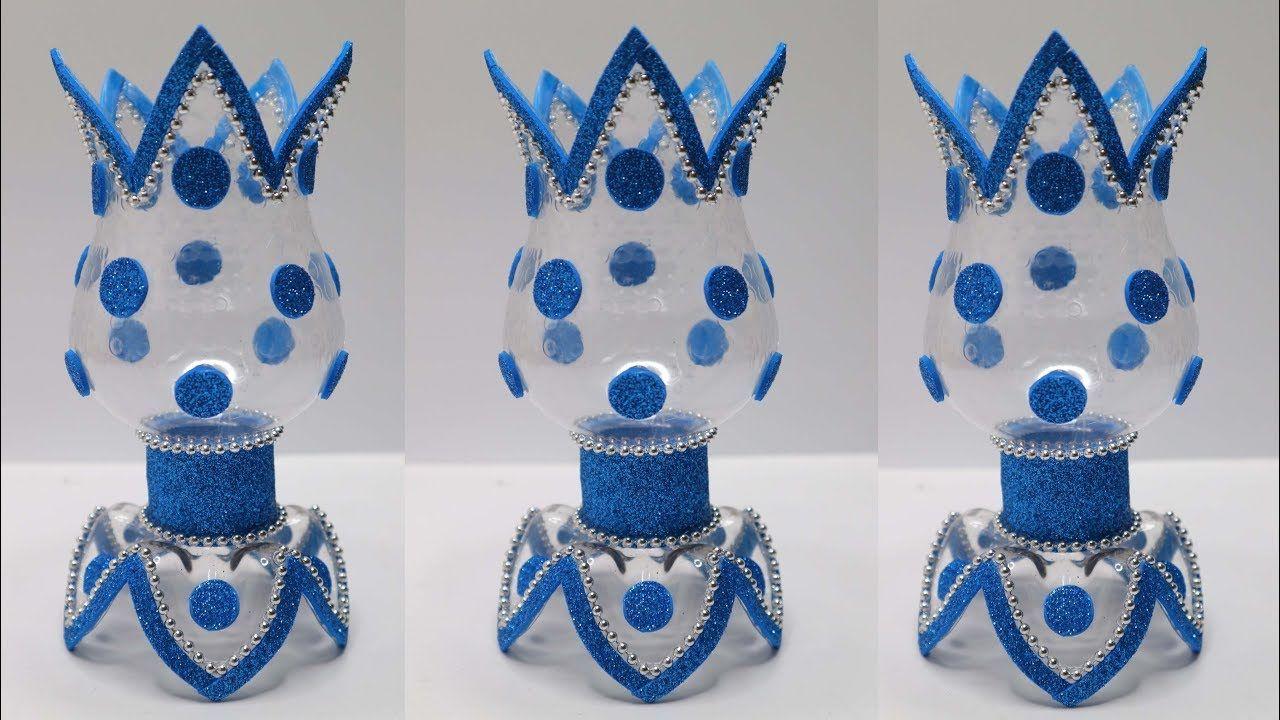 Bottle Craft Ideas Flower Vase From Plastic Bottle Ide Kreatif