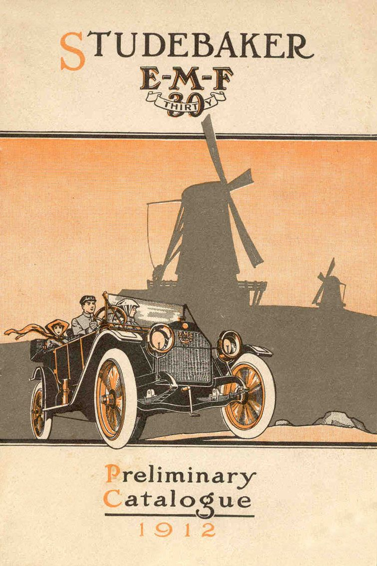 1912 Studebaker | Studebaker ..car brochures | Pinterest | Cars, Car ...