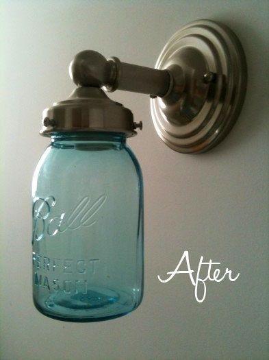 ball jar lighting. Update Your Light Fixtures With Mason Jars Ball Jar Lighting