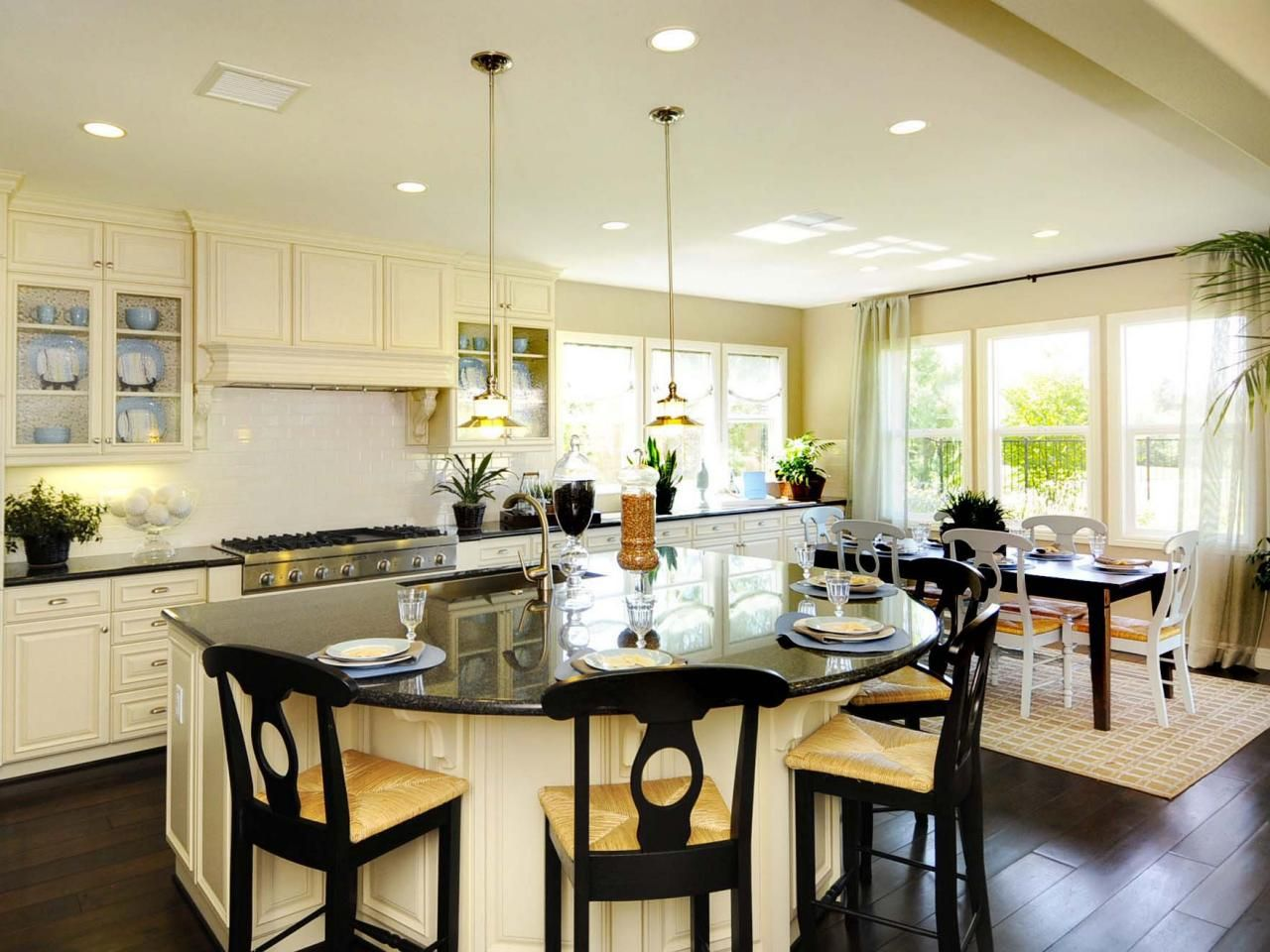 Kitchen Islands: Beautiful, Functional Design Options | Hgtv ...