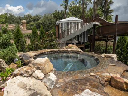 From Mild To Wild Insane Pools Special In Tampa Florida Lucas Lagoons Insane Pools Pool Pool Houses