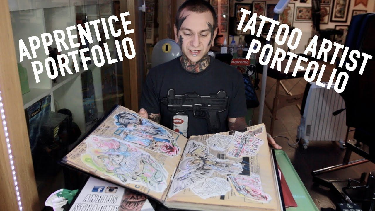 Apprentice Portfolio Tattoo Artist Portfolio Tips And Advice Tattoo Artists Becoming A Tattoo Artist Tattoo Artist Tips