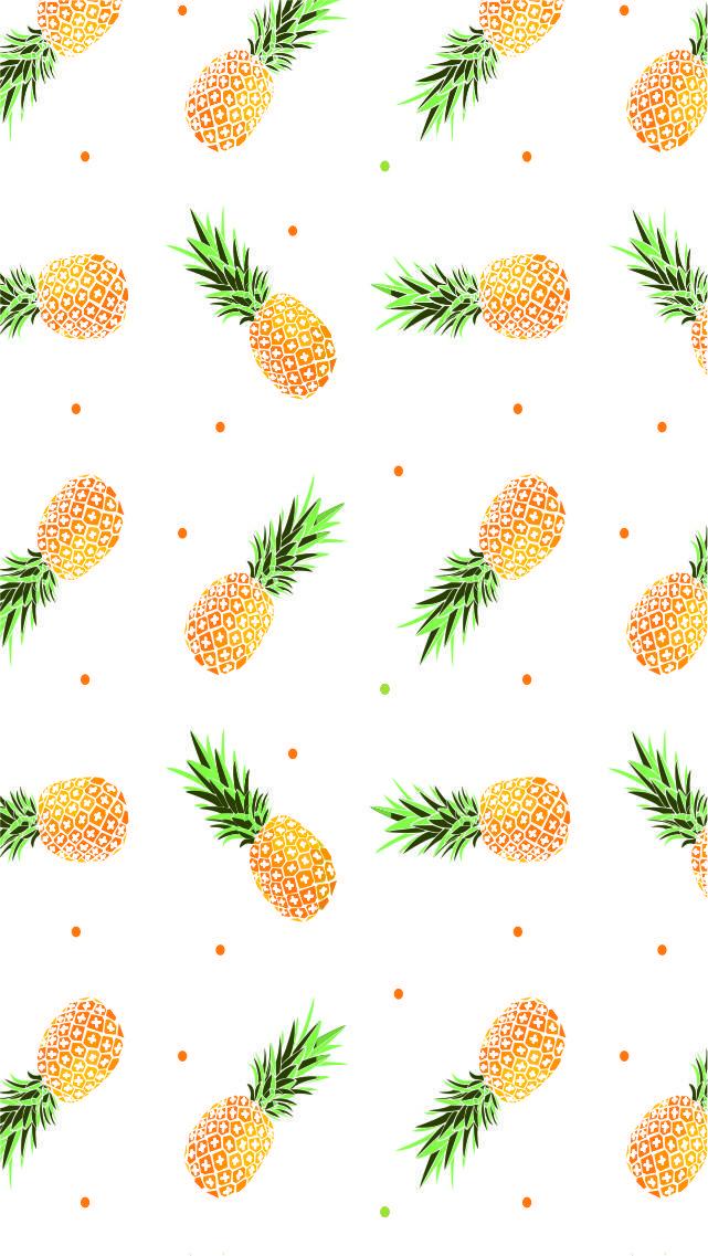 (notitle) Emmy Cute pineapple wallpaper, Wallpaper