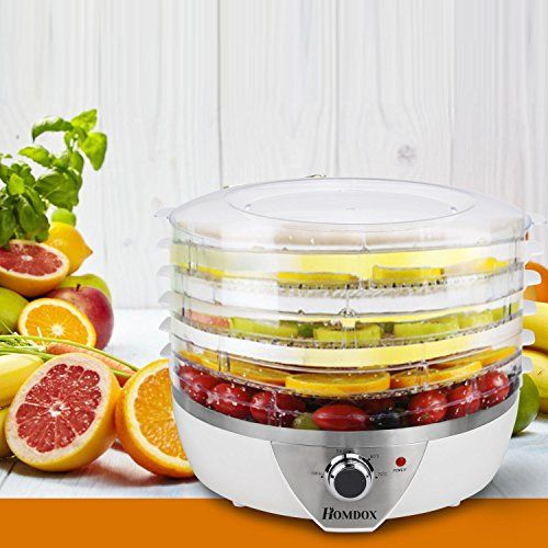 Homdox FD 7 Food Dehydrator Fruit Dehydrater   Cool Kitchen Gifts