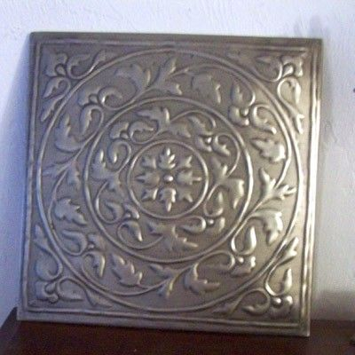 Decorative Tin Ceiling Tiles Vintage Reproduction Tin Ceiling Tile $1000 4500 Gs  Home