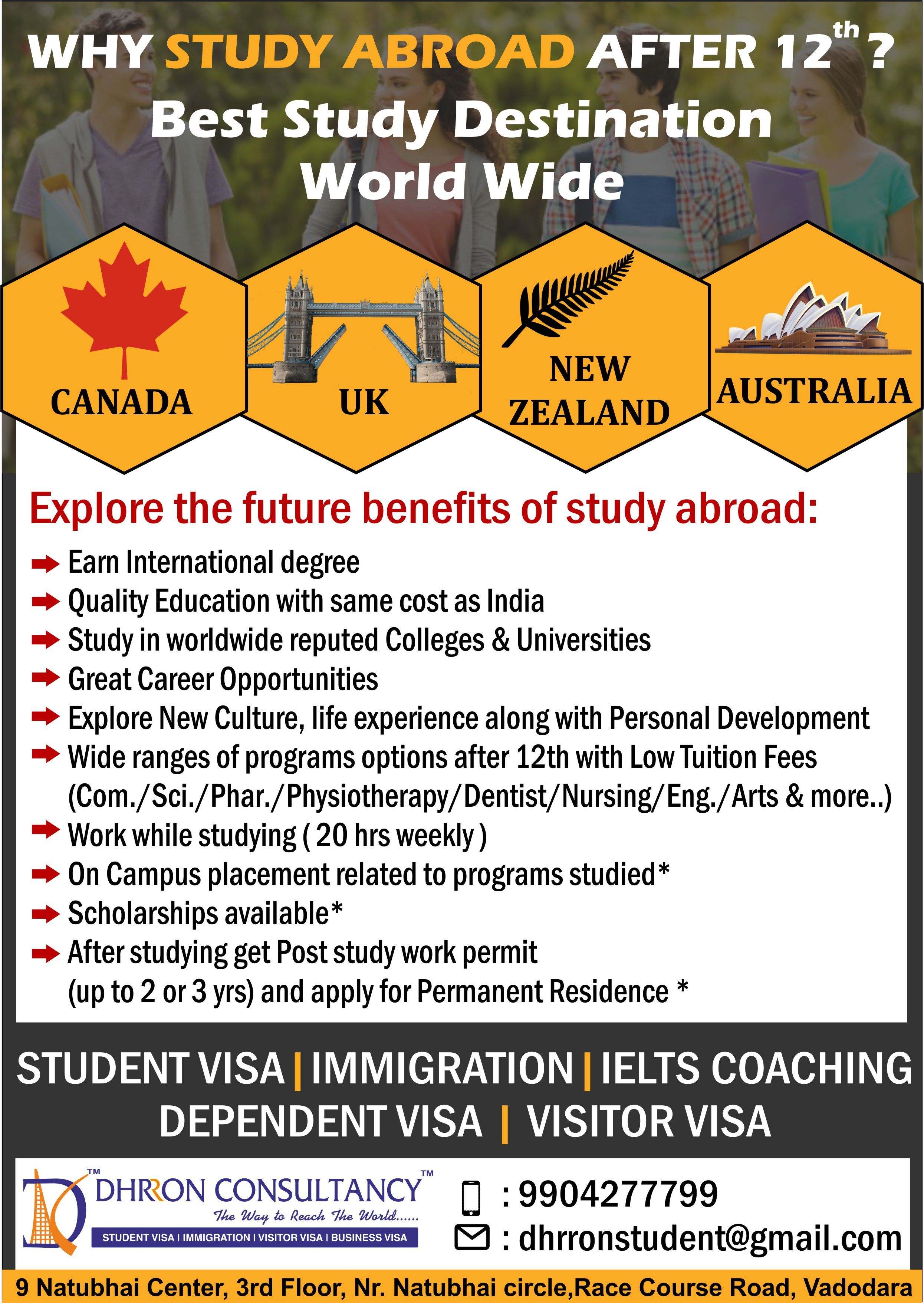 Why Studyabroad After 12th Explore Future Benefits Of Study