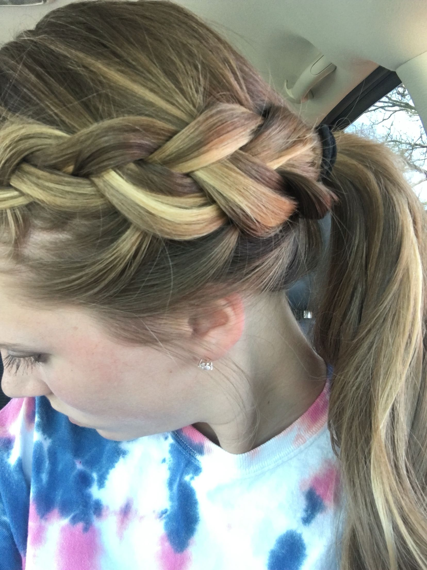 Cute hairstyle for practice my style pinterest