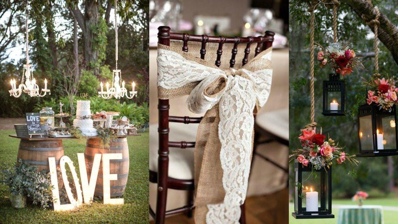 Rustic Wedding Decor Ideas Inspiration Wedding Ideas And