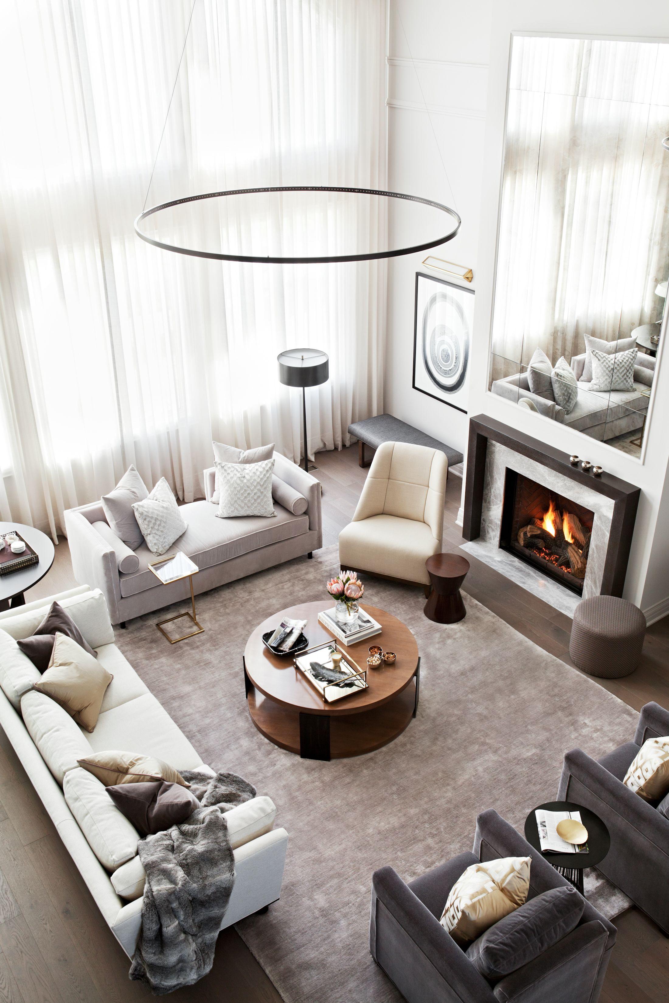 Great Room designed by Elizabeth Metcalfe Interiors & Design Inc ...
