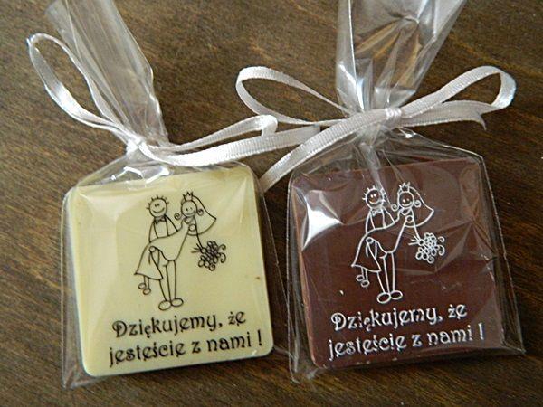 Upominki Dla Gosci Weselnych Czekoladki 4363019314 Oficjalne Archiwum Allegro Wedding Event Married