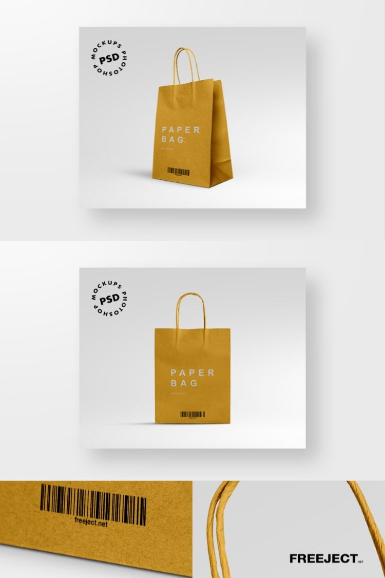 Download 2 Paper Bag Mockups Free Download Photoshop Mockups Template Psd File In 2020 Free Download Photoshop Mockup Free Download Bag Mockup