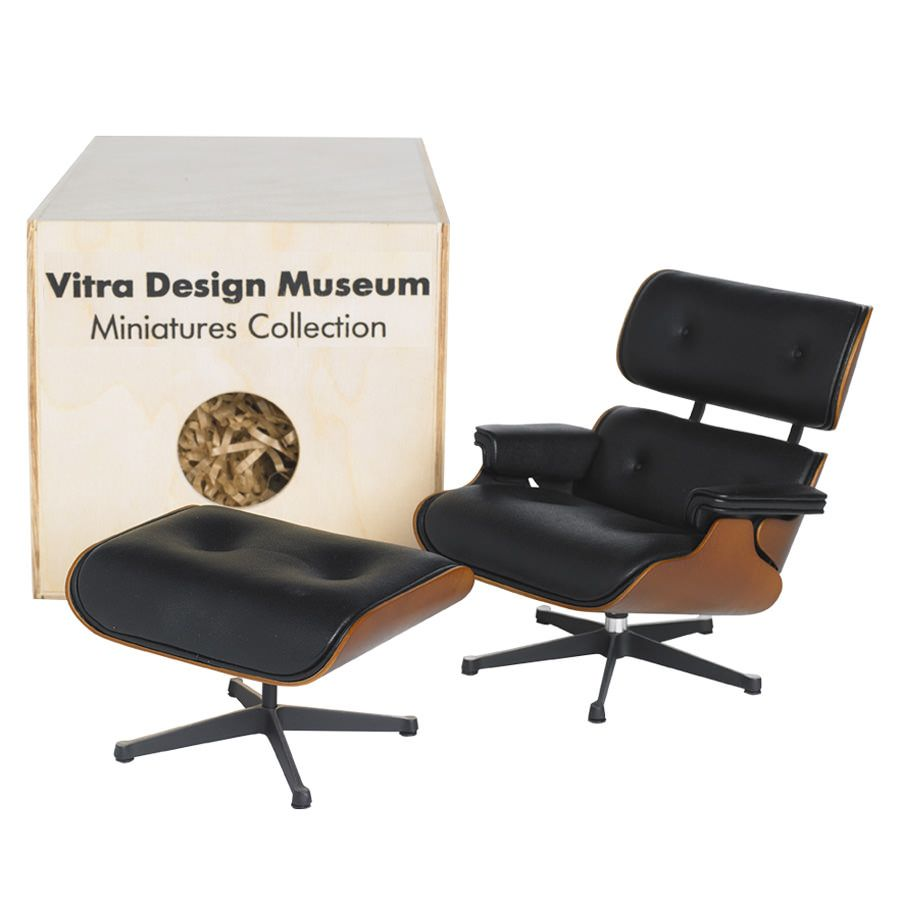 Fine Vitra Miniature 5 5 Inch Eames Lounge Chair And Ottoman Short Links Chair Design For Home Short Linksinfo