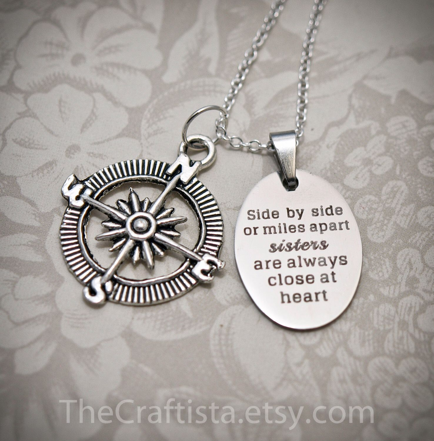 Sister Necklace S12 Sister Gift, Sisters Necklace