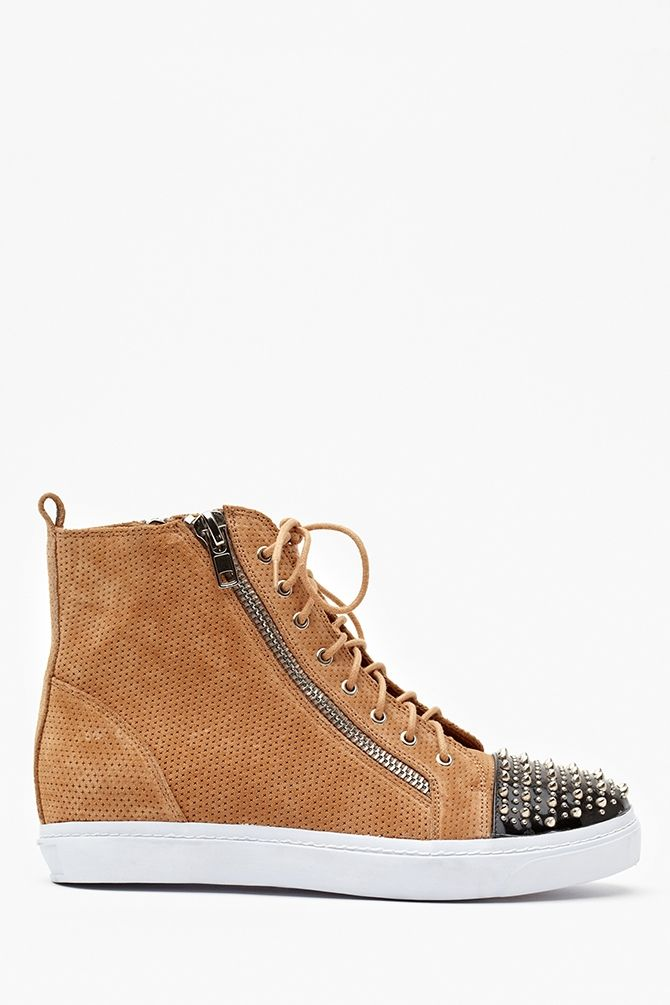 Love In Suede Spike Pinterest Shoes Adams With Tan Sneaker wXUHUcqf