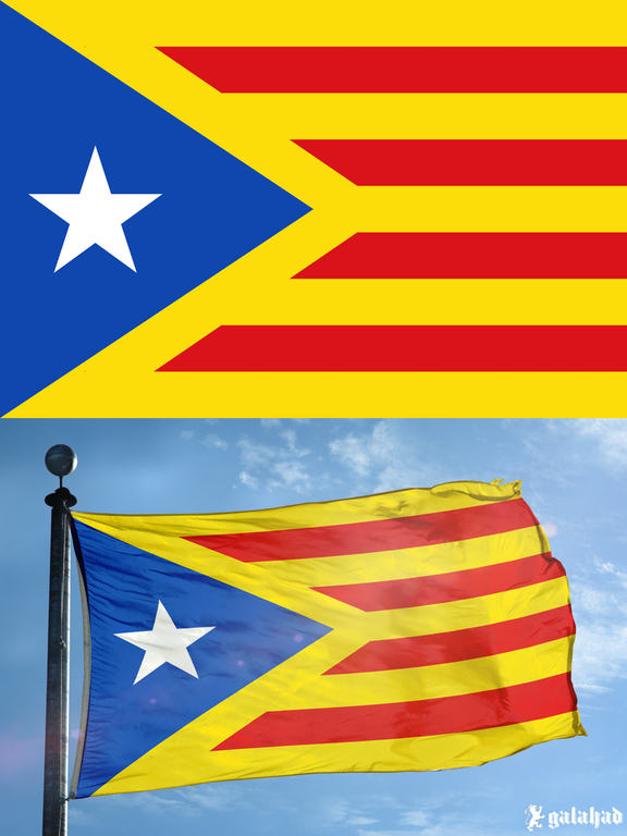 Catalonian Flag Improved Vexillology Flag Flag Design Flags Of The World
