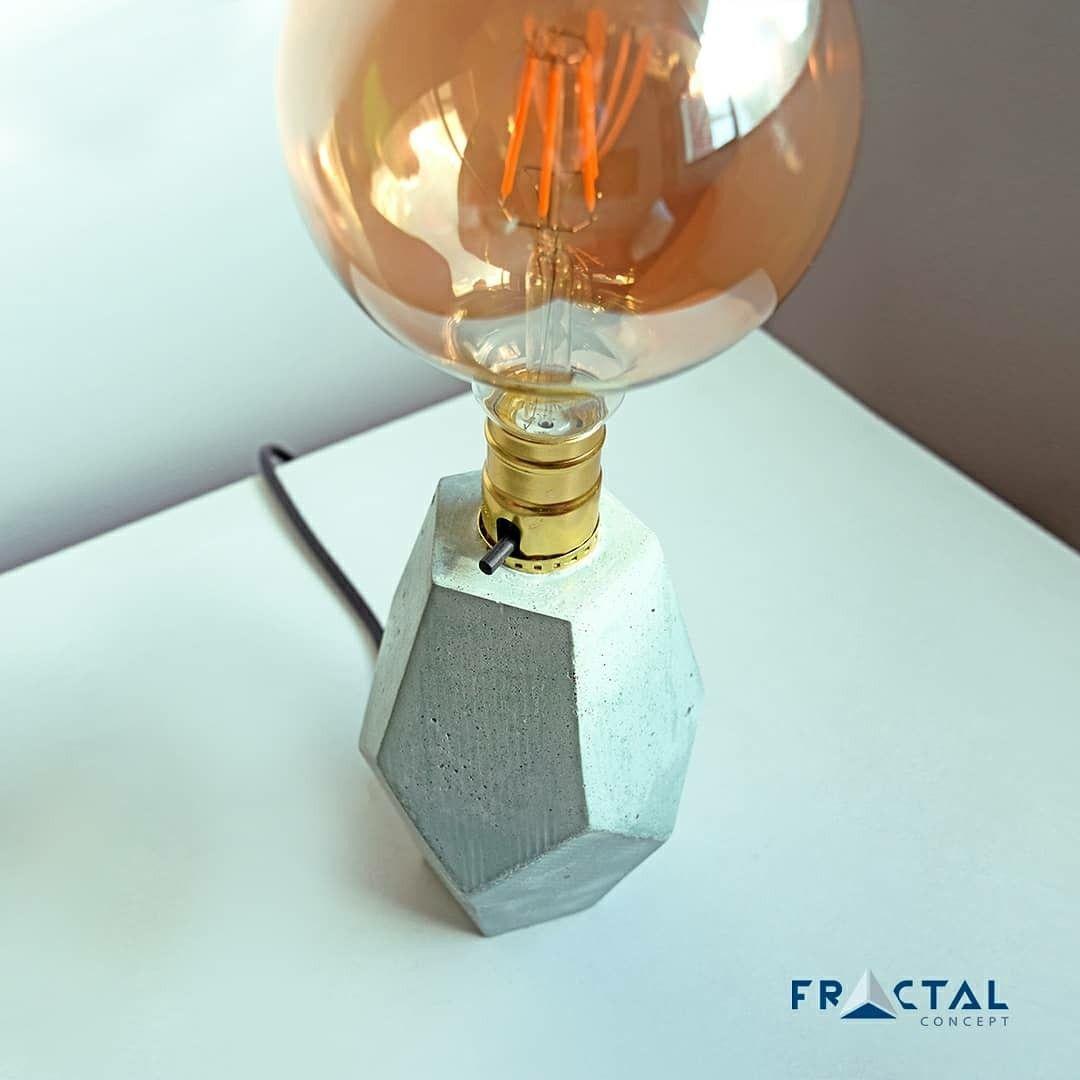 fractalconceptco concretepots  concreteplanters concretedesign concrete lamp concretelamps  Design By @fractalconcept