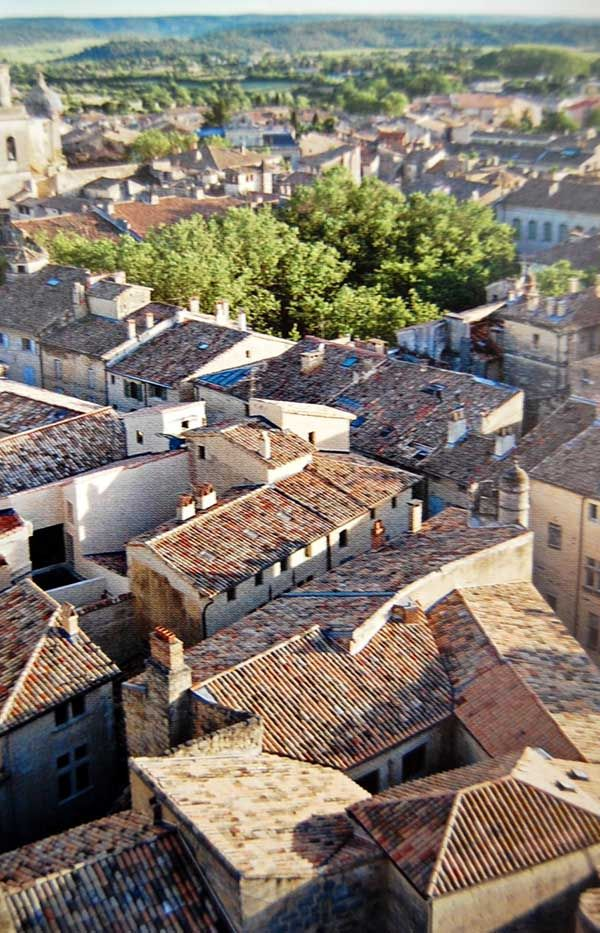 Uzes, France= voted one of the most beautiful villages in France by UNESCO