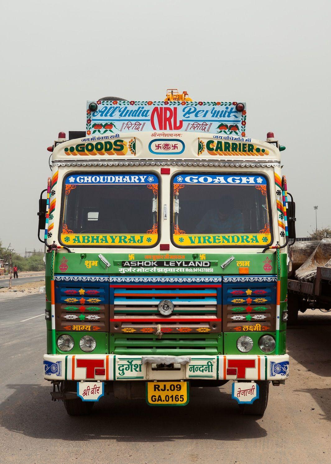 Inside India S Amazing Customized Trucks With Images Trucks