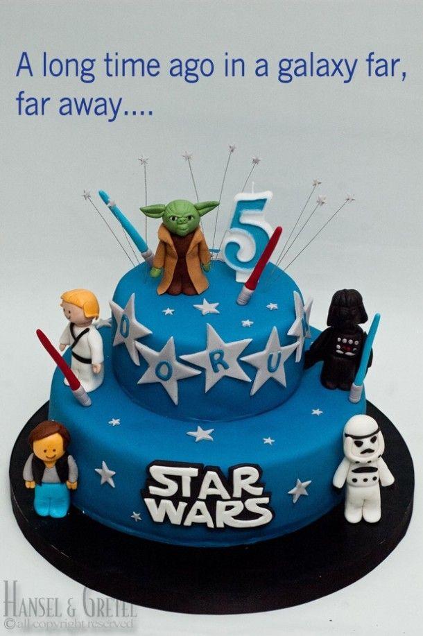 7 Tartas De Cumpleaos Star Wars Pinterest