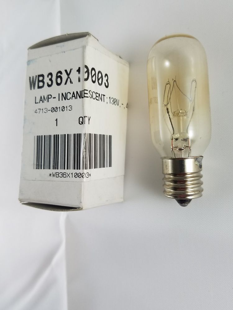 Ge Hotpoint Kenmore Microwave Liance 40w 130vac Lamp Light Bulb Wb36x10003