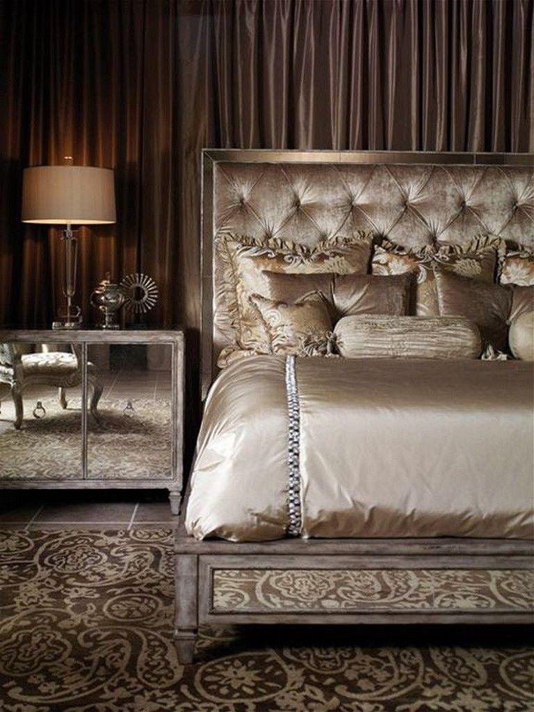 20+ Best Old Hollywood Glamour Bedroom Interior Design