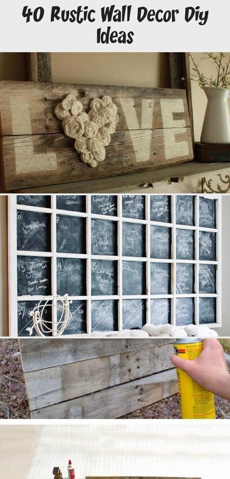 40 RUSTIC WALL DECOR DIY IDEAS RUSTIC WALL DECOR DIY WALL