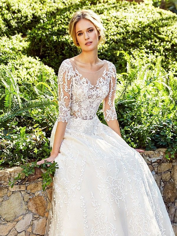 Risqu 233 Full A Line Gown Moonlight Couture H1356a In 2019