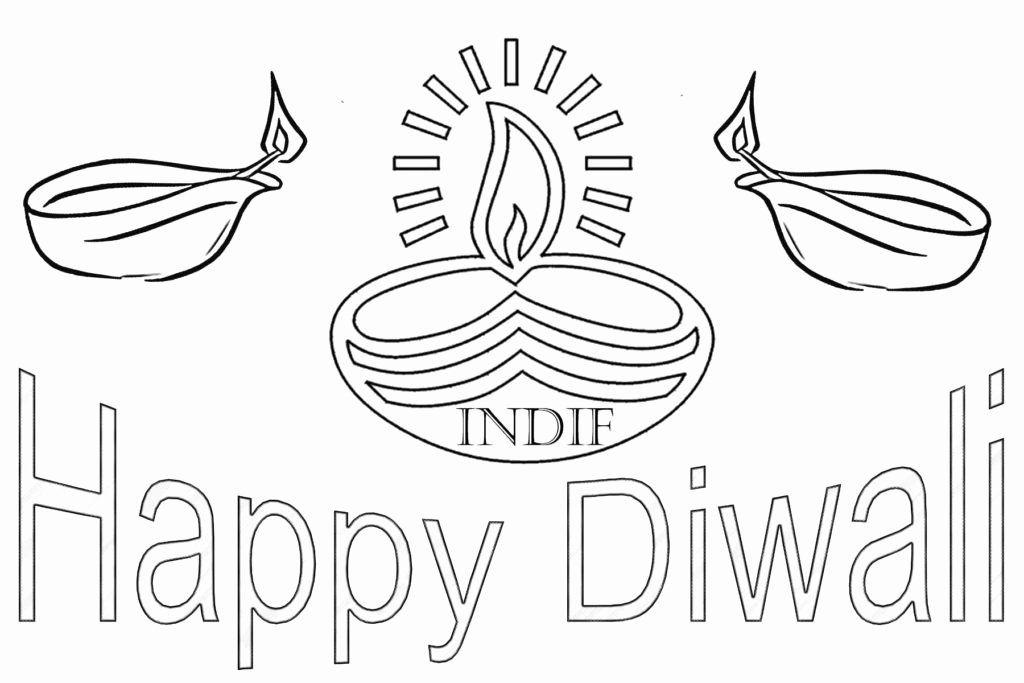Diwali Printable Coloring Pages Unique Coloring Pages Free Coloring Pages Happy Diwali Diwali