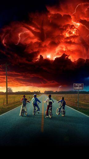 Stranger Things Phone Wallpaper Moviemania Stranger Things Poster Stranger Things Season Two Stranger Things Season