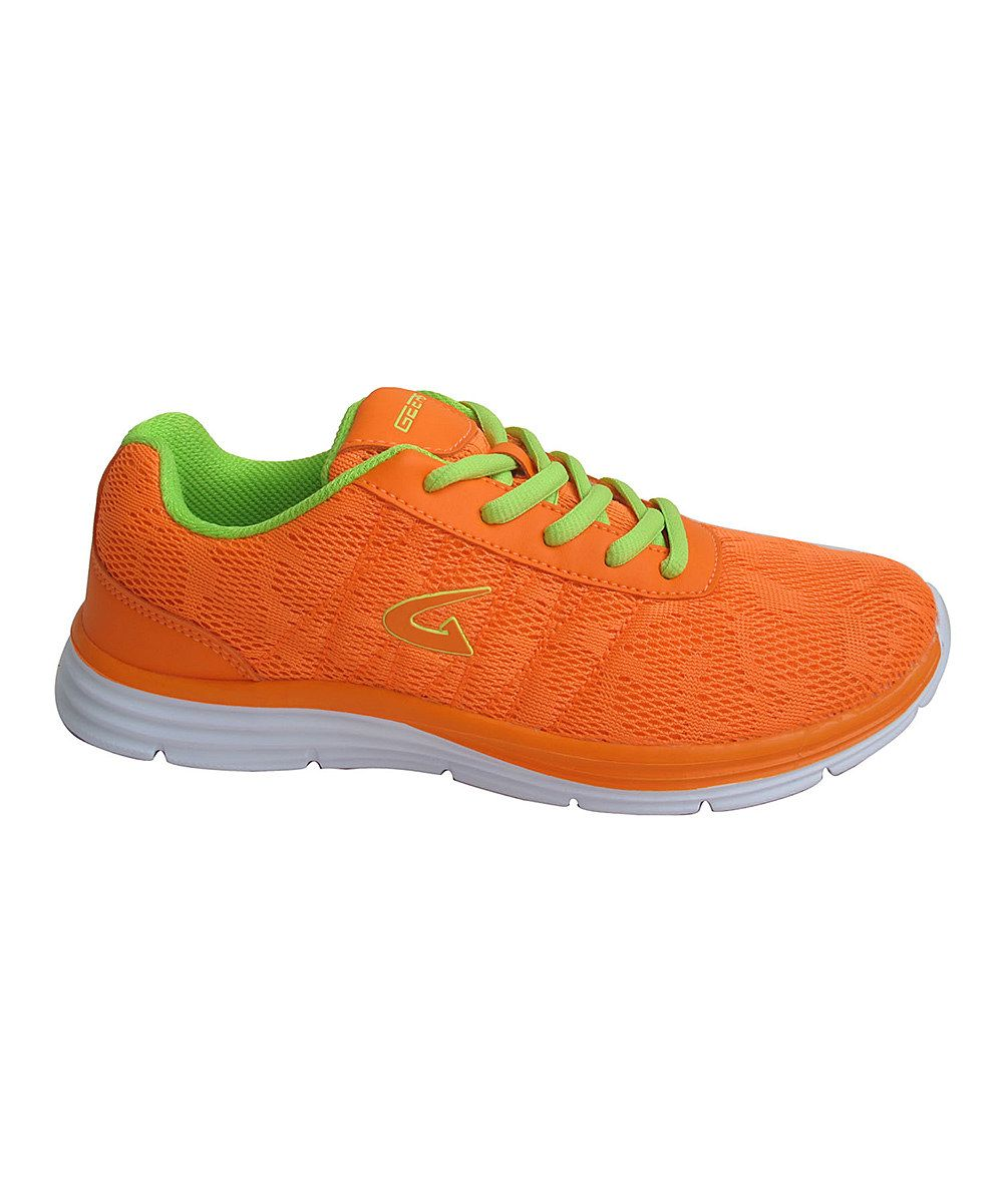 competitive price 96a0d f9a45 Look at this Dream Seek Neon Orange Lunar Sole Running Shoe on  zulily  today!