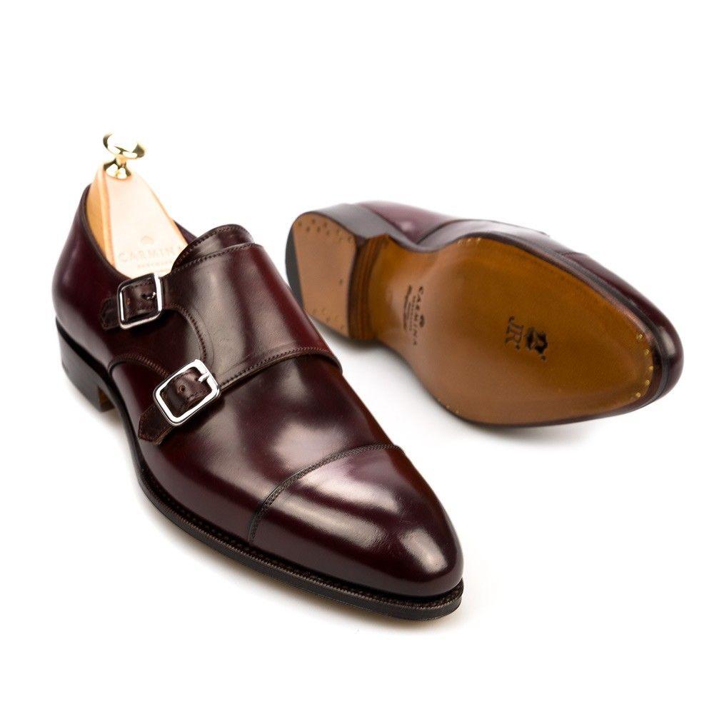 d893d38b1 ZAPATOS DOBLE HEBILLA CORDOVAN 80250 INCA Zapatos Hebilla Hombre