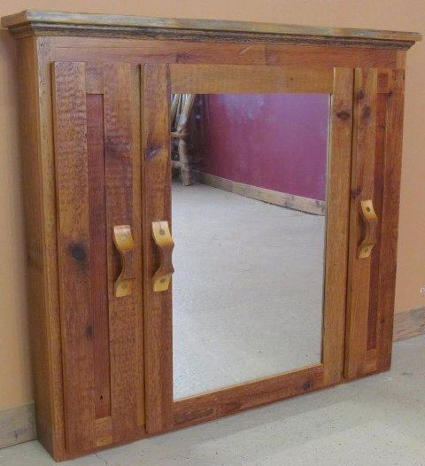 Minnesota Barnwood Medicine Cabinet Furniture Barn Wood Cabinet