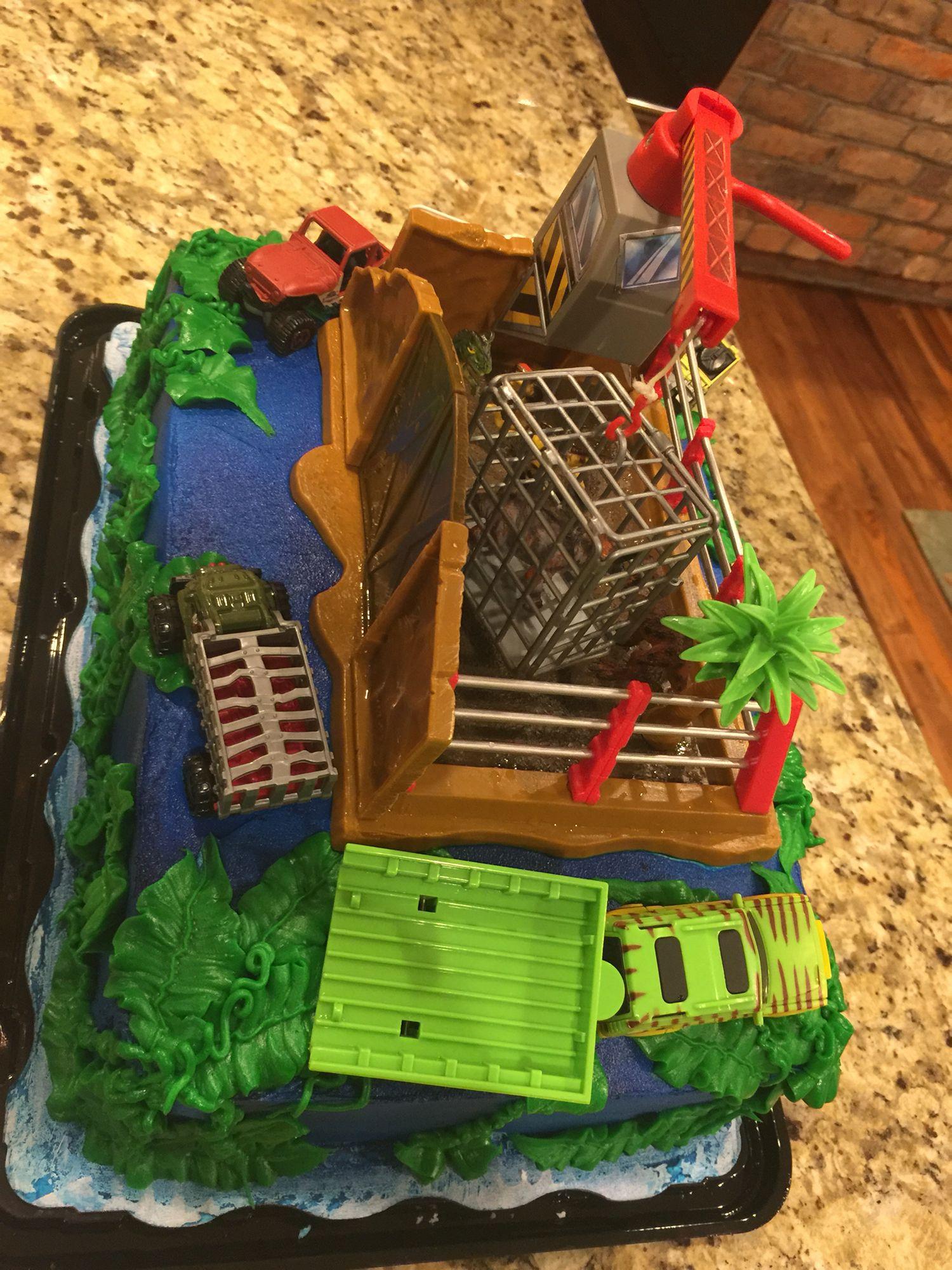 Jurassic world cake   for Cathy   Pinterest
