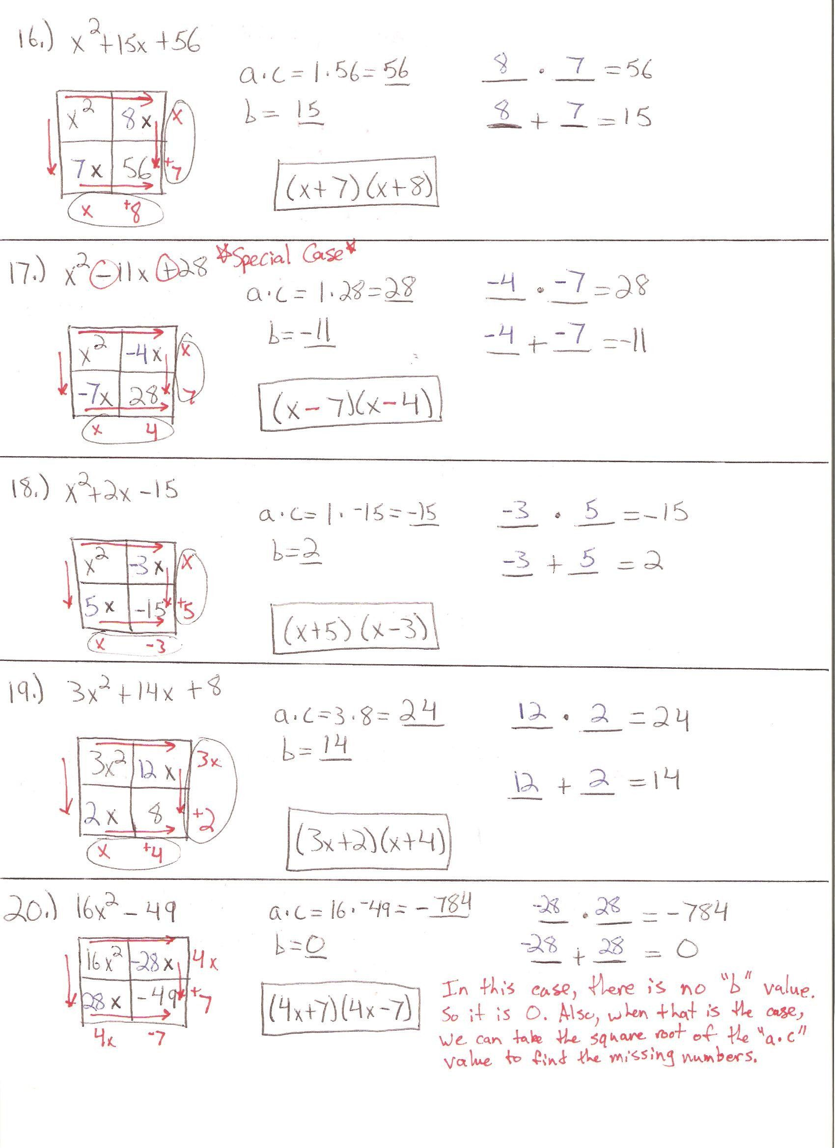 Worksheets For Algebra 2 Worksheet Ideas Algebras With