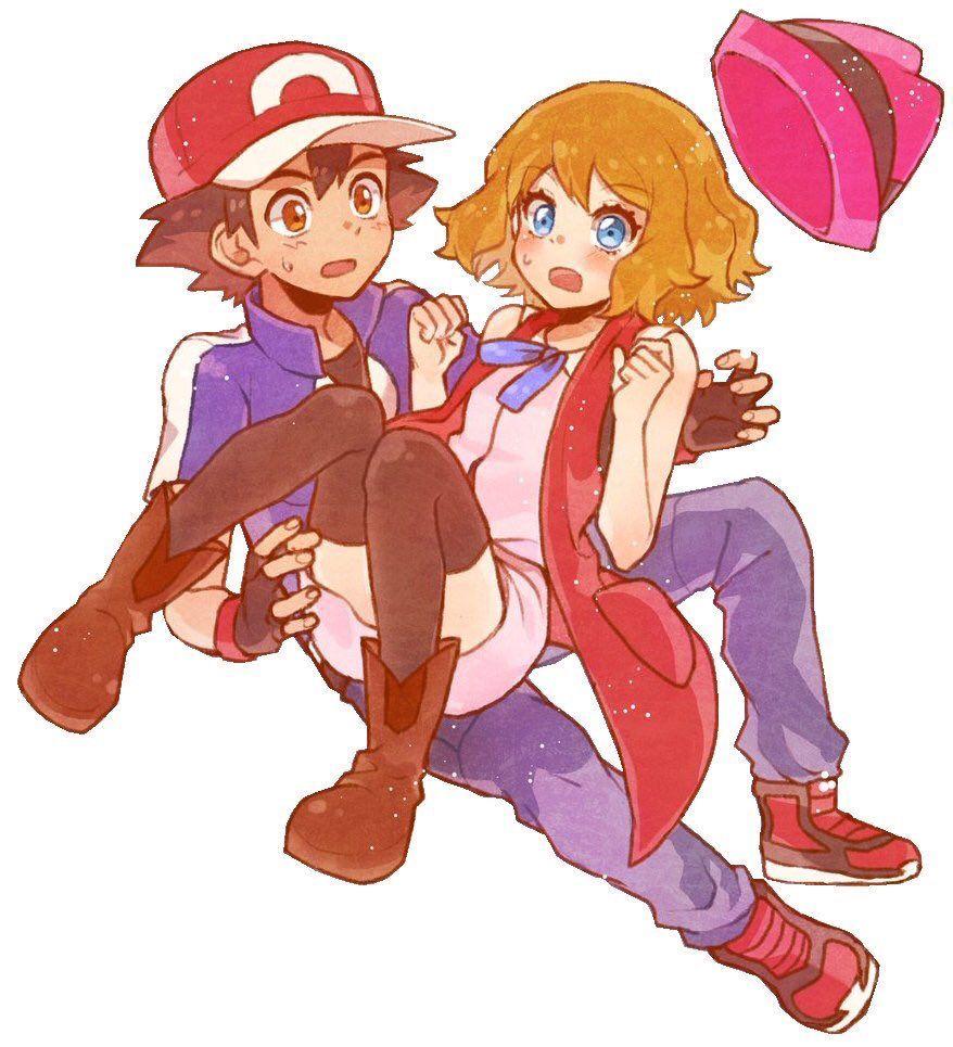 23 Pokemon Ash And Serena Ideas In 2021 Pokemon Ash And Serena Pokemon Pokemon Characters