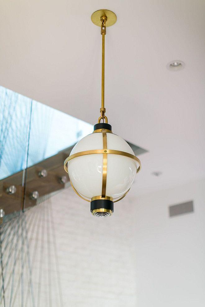 Cape Cod Hanging Light Brass | Lights.co.uk
