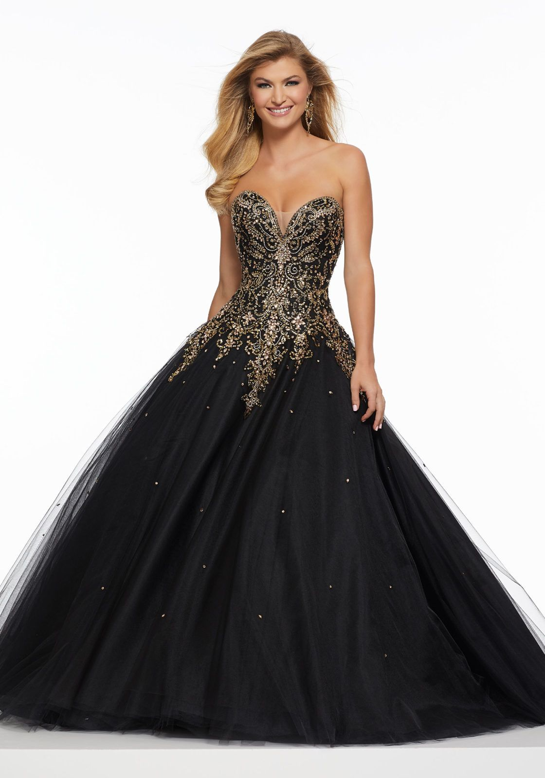 9de014a3573 Contrasting Beading on Tulle in 2019