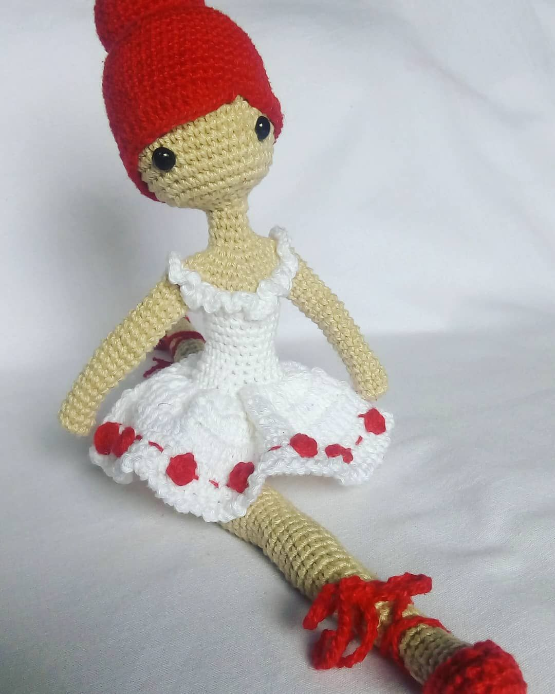 Maria Lua | Boneca Amigurumi - Ratinha Bailarina AG58220 | 1350x1080