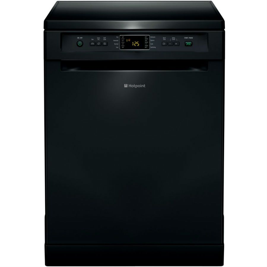 Buy A Hotpoint Extra Fdfex11011k Dishwasher Black Online At Unbeatable Prices By Uk S Top Retail Websites Compare Price Black Dishwasher Hotpoint Dishwasher