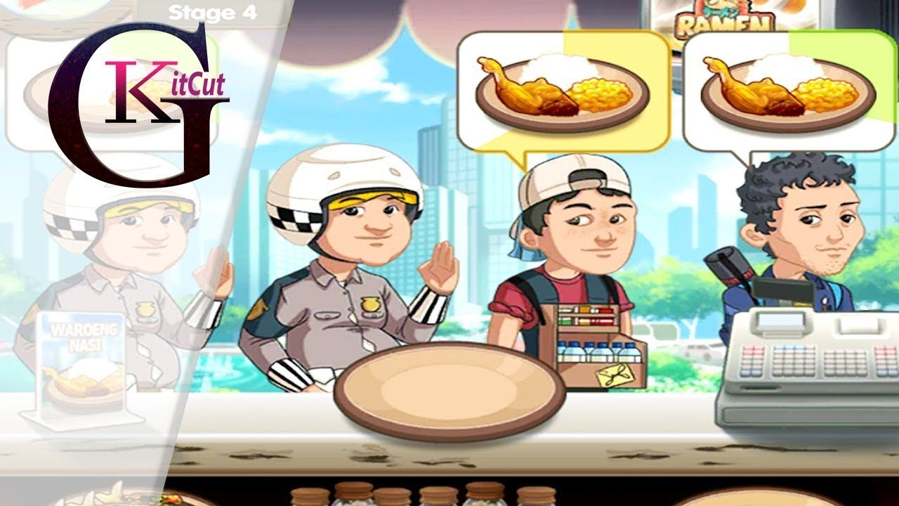 Cuisine Gameplay Warung Chain Best Go Food Express Gameplay For Android Kids Baby