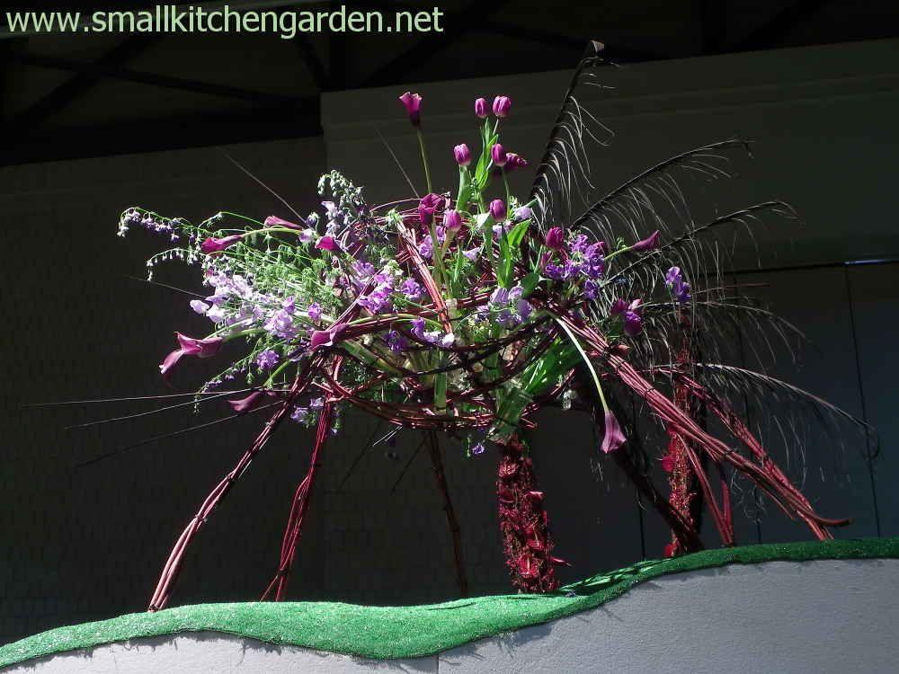 Artistic creation at the Philadelphia Flower Show
