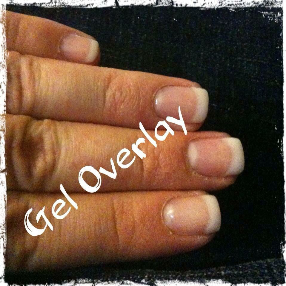 Soft French Gel Overlay Nails {Exotic Nails} | Nails by Katie ...