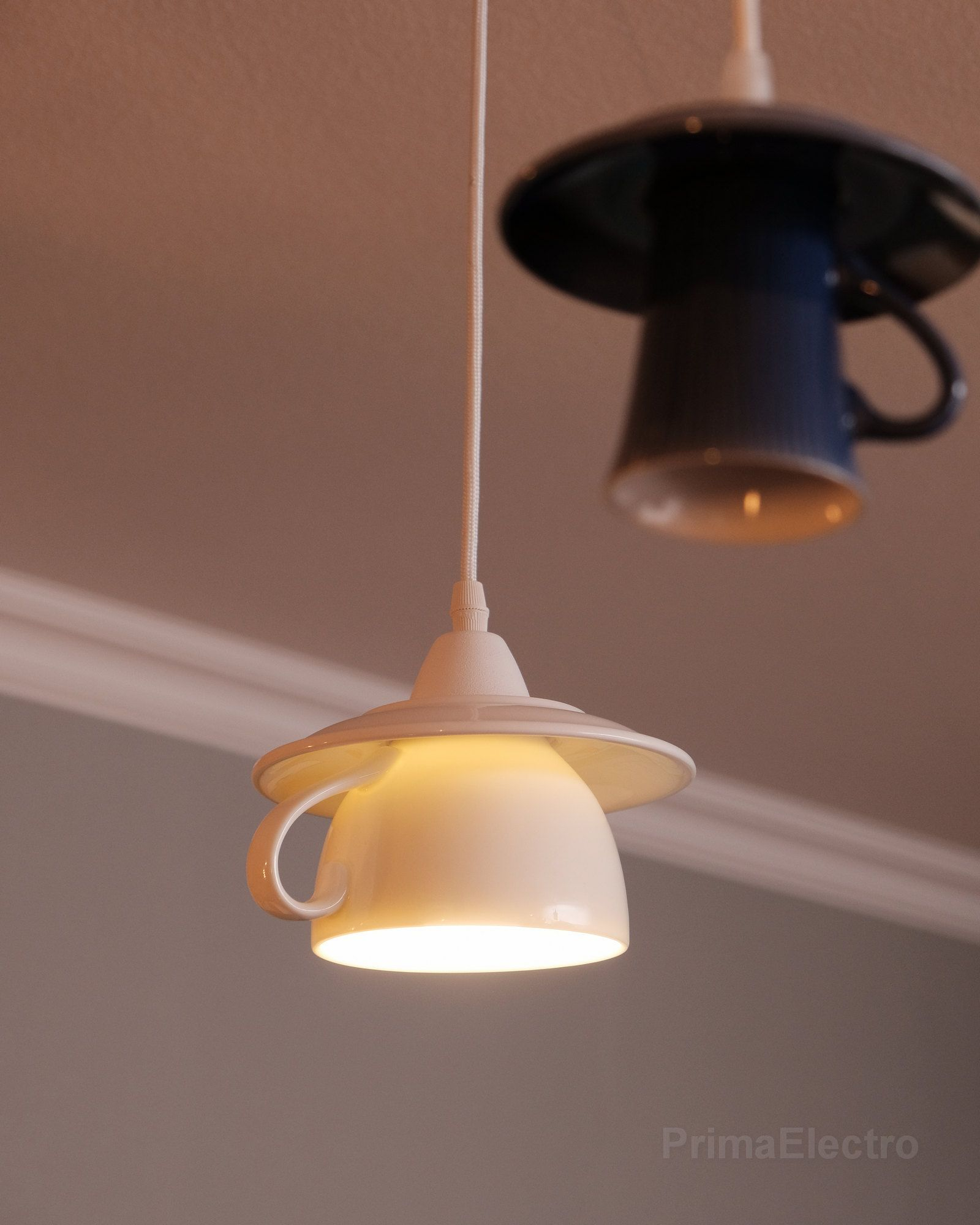 Teacup Pendant Light Kitchen Lighting