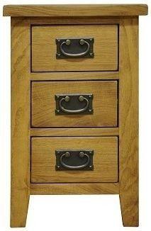 Stamford 3 Drawer Bedside Cabinet £77.00