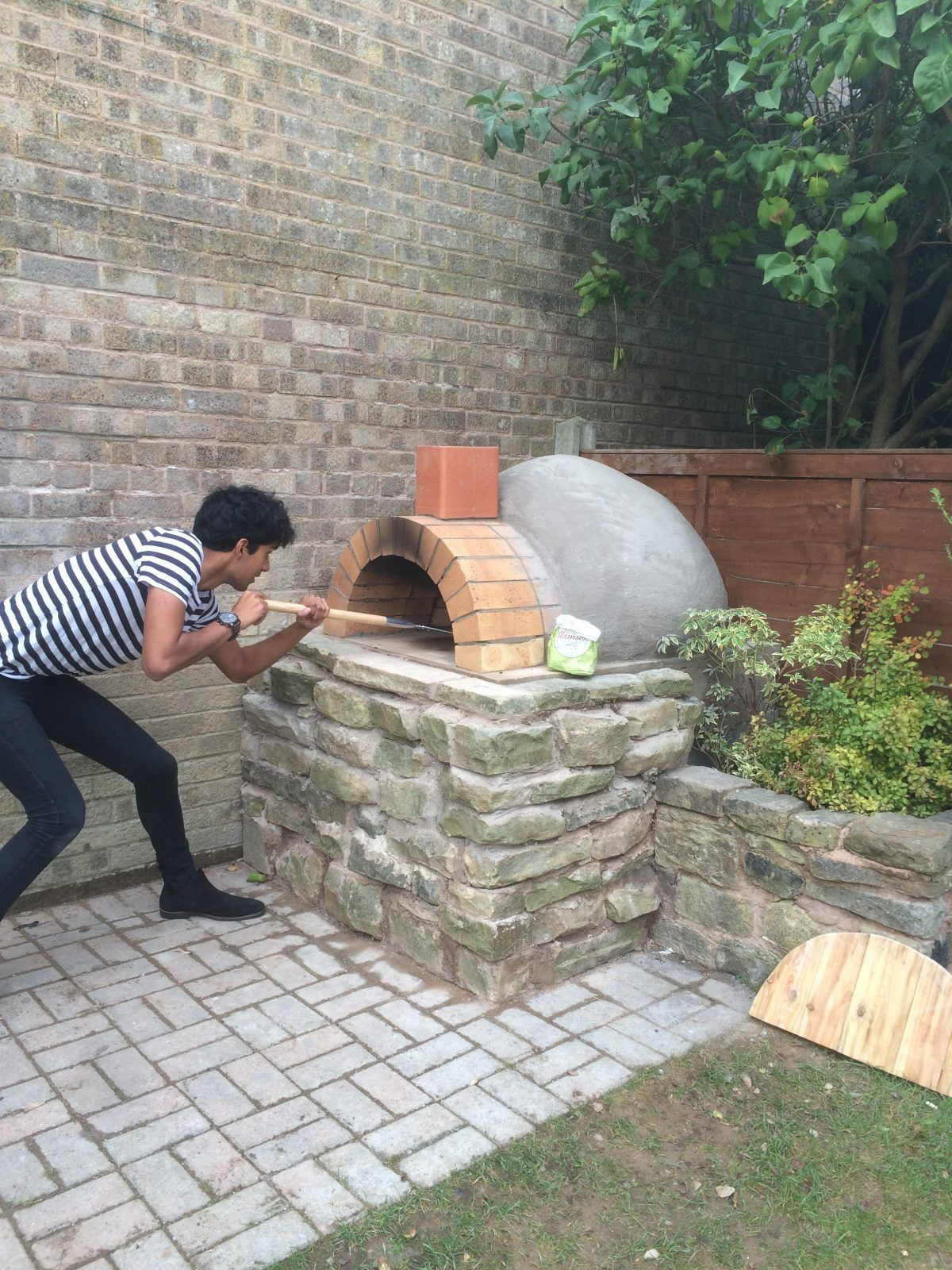 DIY Homemade Pizza Oven | Step By Step Guide #brickpizzaovenoutdoor