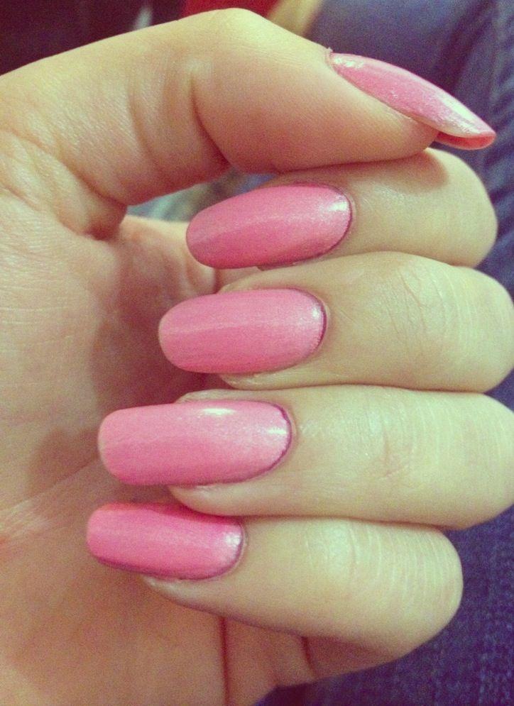 Natural Long Nails Color Dior In Princess